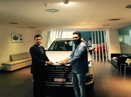 Music composer and singer Gopi Sunder has become the proud owner of luxury vehicle Audi Q7.