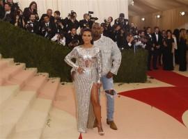 Celebs like Blake Lively, Kanye West, Kim Kardashian, Singer Katy Perry, Singer Beyonce, Singer FKA Twigs and actor Robert Pattinson at Metropolitan Museum of Art Costume Institute Gala (Met Gala).