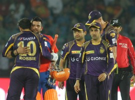 Gujarat Lions overcame a scary start to not only beat Kolkata Knight Riders (KKR) by six wickets at the Green Park Stadium on Thursday, but also vault to the second spot of the Indian Premier League table. Skipper Suresh Raina, who missed the previous match following the birth of his daughter in Holland, led from the front with an unbeaten 53 to anchor the team to their eighth win with 27 balls to spare.