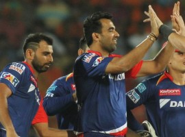 Riding on Karun Nair's unbeaten 83, Delhi Daredevils doesn't only beat Sunrisers Hyderabad by six wickets but also kept themselves in the hunt for the Indian Premier League (IPL) play-offs at the Shaheed Veer Narayan Singh International Cricket Stadium on Friday. Nair, who was dropped on 51 by Hyderabad skipper David Warner, made the opportunity count as his 59-ball knock guided the team home in what turned out to be a nail-biting affair. His innings was laced with eight hits to the fence and three over it.