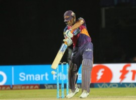 Skipper Mahendra Singh Dhoni's 64 not out off 32 deliveries turned it around for Rising Pune Supergiants as the debutants ended their Indian Premier League (IPL) campaign with a four-wicket victory over Kings XI Punjab on Saturday. Dhoni, who smashed four fours and five sixes, clobbered left-arm spinner Axar Patel for three sixes and a four in the final over to not only take Pune over the line but finish at the penultimate spot in the IPL table.