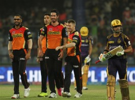 Two times champions Kolkata Knight Riders' campaign in Indian Premier League 9 ended after going down to Sunrisers Hyderabad by 22 runs in the eliminator on Wednesday.