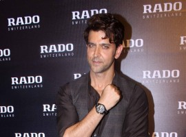 Actor and Rado brand ambassador Hrithik Roshan introduced the Swiss watchmaker's chocolate brown high-tech ceramic collection on Friday evening.