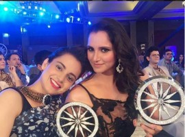 'Bahubali' director SS Rajamouli, Kangana Ranaut, Sania Mirza win CNN-News18 'Indian of the Year' 2015 award.