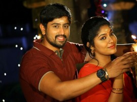Jigarthanda is an upcoming Kannda movie directed by Shivaganesh and produced by Sudeep. The film stars Ravishankar P, Rahul and Samyuktha Belawadi in the lead role, while Chikkanna, Sadhu Kokila, Dharma, Dattanna, Chitra Shenoy, Manjunath Hegde and K Manju appear in the supporting role.