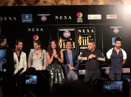 The 17th edition of the International Indian Film Academy (IIFA) gala here kicked off with much fanfare and aplomb. Celebs like Salman Khan, Deepika Padukone, Priyanka Chopra, Shilpa Shetty and others attened the event.