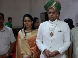 Elaborate rituals for the June 27 grand wedding of the Mysuru's titular Maharaja Yaduveer Krishnadatta Chamaraj began on Friday at the Ambi Vilas Palace here amid chanting of Vedic hymns and invocation of Hindu goddess Chamundeshwari, a palace official said.
