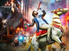 Sai Dharam Tej's upcoming movie Thikka first look poster revealed.