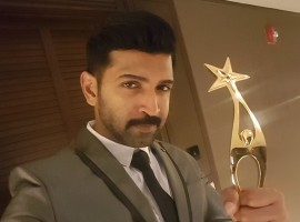 Best Actor Negative Role Tamil goes to Arun Vijay for Yennai Arindhal movie at SIIMA 2016.