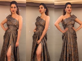 Cute RAAI LAXMI ‏at SIIMA Red Carpet event.