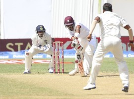A brilliant century from Roston Chase, aided by half-centuries from Jermaine Blackwood, Shane Dowrich and Jason Holder, helped West Indies draw the second Test against India at the Sabina Park Stadium here on Wednesday.
