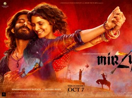Directed by Rakeysh Omprakash Mehra, the story of MIRZYA has been written by poet and lyricist Gulzar. Harshvardhan Kapoor and Saiyami Kher in the lead role.