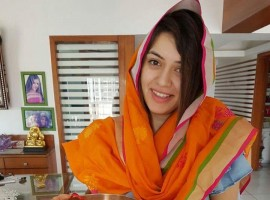South Indian actress Hansika Motwani celebrates Rakshan Bandhan.