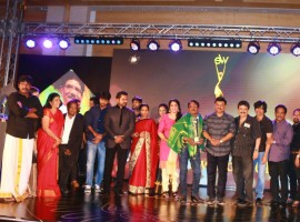 Sivakarthikeyan, Vikram Prabhu, SJ Surya, Atlee, Priya, Santhosh Narayanan, Meena with her daughter Nainika, K Bhagyaraj, Poornima Bhagyaraj, Lakshmy Ramakrishnan, Sathish, Viji Chandrasekhar, Archana Kalpathi, Dhananjayan, Lakshmi Ujjaini, Sheriff, Mime Gopi, Jupiter Suresh, Nallammai Ramanathan, Karthik Srinivasan, Sri Krishna Sweets Murali, Dushyanth Ramkumar, SV Sekar, Veena Kumaravel, Sundaresan, Kadhambari, Barath Joshi, VIT Vishwanath, Patricia Narayanan, Dharma (VP, Twilite Creations), Vishwanath (VIT Chancellor), Bharathiraja, , Rangaraj Pandey, Jayanthilal Challani, Varatharajan Sowbagya, Sumathi Srinivas, O.S. Arun graced the we magazine awards event.