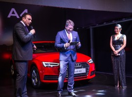 Audi, the German luxury car manufacturer, launched the all-new Audi A4 in all Audi dealerships across India simultaneously for the first time.