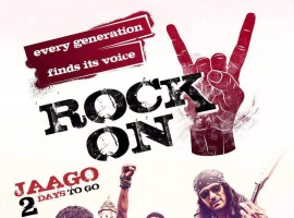 Farhan Akhtar, Arjun Rampal, Purab Kohli, Shraddha Kapoor's Rock On 2 first look poster revealed.