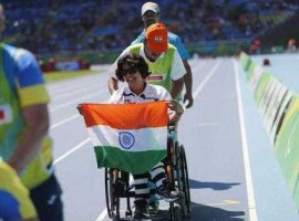 India's Deepa Malik bagged a silver medal in the women's shotput F53 event at the 2016 Rio Paralympics Games, clinching the silver with a personal best throw of 4.61 metres on Monday. Fatema Nedham of Bahrain won the gold medal with a throw of 4.76m while Dimitra Korokida of Greece bagged the bronze with an attempt of 4.28m which was her best effort this season.