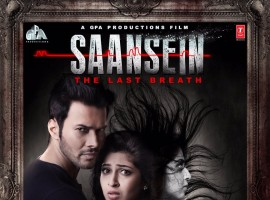 Saansein is an upcoming Bollywood romantic horror movie directed by Rajiv S Ruia and produced by Goutam Jain. The film stars Rajneesh Duggal, Sonarika Bhadoria, Hiten Tejwani and Neetha Shetty in the lead role, while Sachi Ruia, Amir Dalvi and Vishal Malhotra appears in the supporting role. The film is scheduled for a release on November 11, 2016.