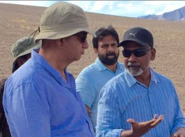 Filmmaker Mani Ratnam, who is currently busy wrapping up upcoming Tamil romantic-drama