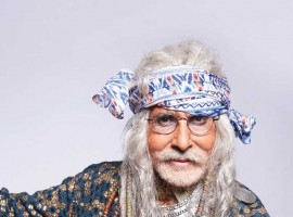 Megastar Amitabh Bachchan has chosen a new style statement complete with dreadlocks and beads for an upcoming TV commercial.
