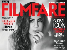 India's number one Entertainment Magazine, is all set to take its indomitable reputation of being the ultimate guide to the inner and outer aspects of Bollywood ahead with its annual fashion issue. In what seems as a fitting choice, Bollywood and now Hollywood sensation, the unstoppable Priyanka Chopra graces the cover of Filmfare's latest issue titled 'The Big Fashion Issue'. The issue will give its readers a chance to get up, close and personal with the 'Desi Girl', who has taken the global audience by storm off late with her numerous projects.