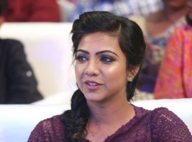 South Indian actress Madonna Sebastian at Premam audio launch.