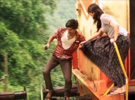 Thodari is an upcoming Tamil romantic thriller movie written and directed by Prabhu Solomon and produced by Sathya Jyothi Films. The film stars Dhanush and Keerthy Suresh in the lead roles. In the film, Dhanush plays a pantry worker.