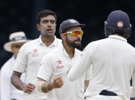 India bowled out New Zealand for 236 in their second innings to win the first cricket Test by 197 runs on the fifth day at the Green Park here on Monday. Chasing a daunting 434, the Kiwis were 93 for four at stumps on day four and on Monday lost the remaining six wickets for just 143 runs.