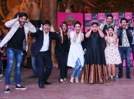 Photos of Comedy Nights Bachao Taaza New Comedian Faces on Bachao Set. New faces are Bharti Singh, Sumeet Vyas, Krushna Abhishek, Sudesh Lahiri, Aditi Bhatia, Manan Desai, Amruta Khanvilkar, Mona Singh, Ssumier Pasricha aka Pammy Aunty, Ssharad Malhotra, Nia Sharma and Balraj Sayal.
