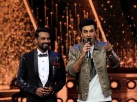 Bollywood actor Ranbir Kapoor promotes 'Ae Dil Hai Mushkil' on the set of Dance+ at RK Studio.