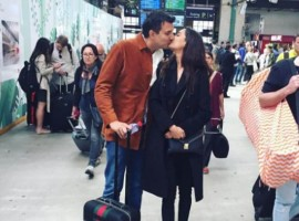 Bollywood Actress Lisa Haydon has announced that she is soon getting married. Lisa shared the news on her Instagram account On Tuesday along with a photograph with her beau.