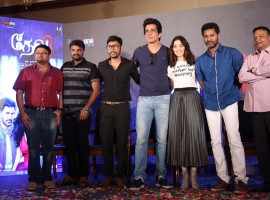 Tamil movie Devi audio launched in Chennai. Celebs like Prabhu Deva, Sonu Sood, Tamannaah, AL Vijay, RJ Balaji, Shiyam Jack and others graced the event.
