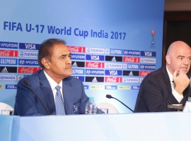FIFA President Mr. Gianni Infantino who is on his first visit to India since being elected the FIFA President said on Tuesday (September 27, 2016) that Indian Football is