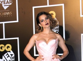 Bollywood celebs like Kangana Ranaut, Huma Qureshi, Kiran Rao, Mandira Bedi, Pooja Hegde at 8th edition of the GQ Men of the Year Awards.