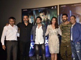 Makers of Force 2, Ajit Andhare, Vipul Amrutlal Shah, Abhinay Deo along with the starcast comprising of John Abraham, Sonakshi Sinha and Tahir Raj Bhasin presented to the audience, the power packed trailer of their film.