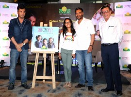 Bollywood actor Ajay Devgn joins Smile Foundation as goodwill ambassador, unveils #SheCanFly campaign with daughter Nysa.