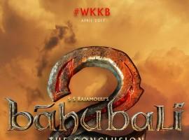 Prabhas, Rana Daggubati, SS Rajamouli 's Baahubali: The Conclusion (Baahubali 2) Title Logo revealed.
