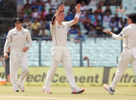 India were all out for 316 in their first innings on day two of the second cricket Test against New Zealand at the Eden Gardens here on Saturday.