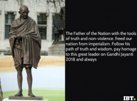Gandhi Jayanti 2016: Best Quotes, SMS, Messages, Wishes, Images to share on Bapu's 147th birth anniversary