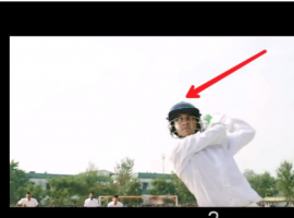1. Sushant Singh Rajput seen wearing a helmet in the scene.