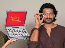 News is that the actor was approached by the Tussauds  museum authorities two months ago after which he underwent a sitting in Hyderabad with the artists during which 350 photographs were clicked and measurements taken. 'Baahubali' star Prabhas will have his wax figure immortalised at Madame Tussauds, Bangkok. The actor has become a global name soon afetr the release of the much popular film Baahubali.
