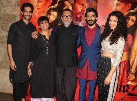 Bollywood actor Amitabh Bachchan at Mirzya Film Special Screening at Light box.