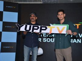 Yupp TV announced actor Mahesh Babu as The 'Brand Ambassador'. South Indian Actor Mahesh Babu, Founder and CEO of YuppTV, Uday Reddy and others attended the brand event which held in Hyderabad.