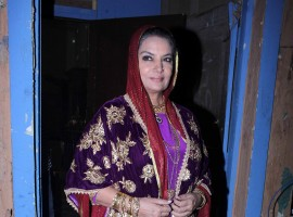 Shabana Azmi, Ashmit Patel on the set of zee new show