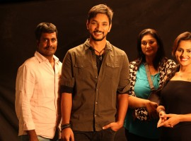 Ivan Thanthiran is an upcoming Tamil movie directed by R. Kannan and Produced by Ashaa Sree. The film stars Gautham Karthik, Shraddha Srinath and RJ Balaji in the lead role.