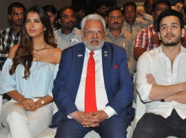 The Republican Hindu Coalition presents Victims of Terror Charity Concert for Kashmiri Pundits and Hindu Refugees Press Meet event held at Park Hyatt in Hyderabad. Actor Akhil Akkineni, Actress Manasvi Mamgai, RHC Chairman Shalli Kumar and others graced the event.