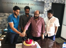 Photos of Premam Success celebration with Naga Chaitanya. The film also stars Shruti Haasan, Madonna Sebastian and Anupama Parameswaran.