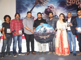 Telugu Movie Kaashmora Audio and Trailer event held at Hyderabad. Celebs like Karthi, R Madhavan, Sri Divya, Director Gokul, Cinematographer Om Prakash, SR Prabhu, Rajeevan, Prasad V. Potluri, Vamsi Paidipally and others graced the event.