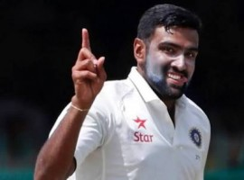 Star off-spinner Ravichandran Ashwin (6/81) triggered a collapse to bundle out New Zealand for a paltry 299 in their first innings in response to India's 557/5 declared in the third and final Test at the Holkar stadium here on Monday.