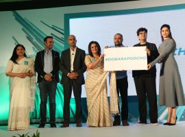 The launch of India's first public mental health awareness campaign event held in New Delhi.